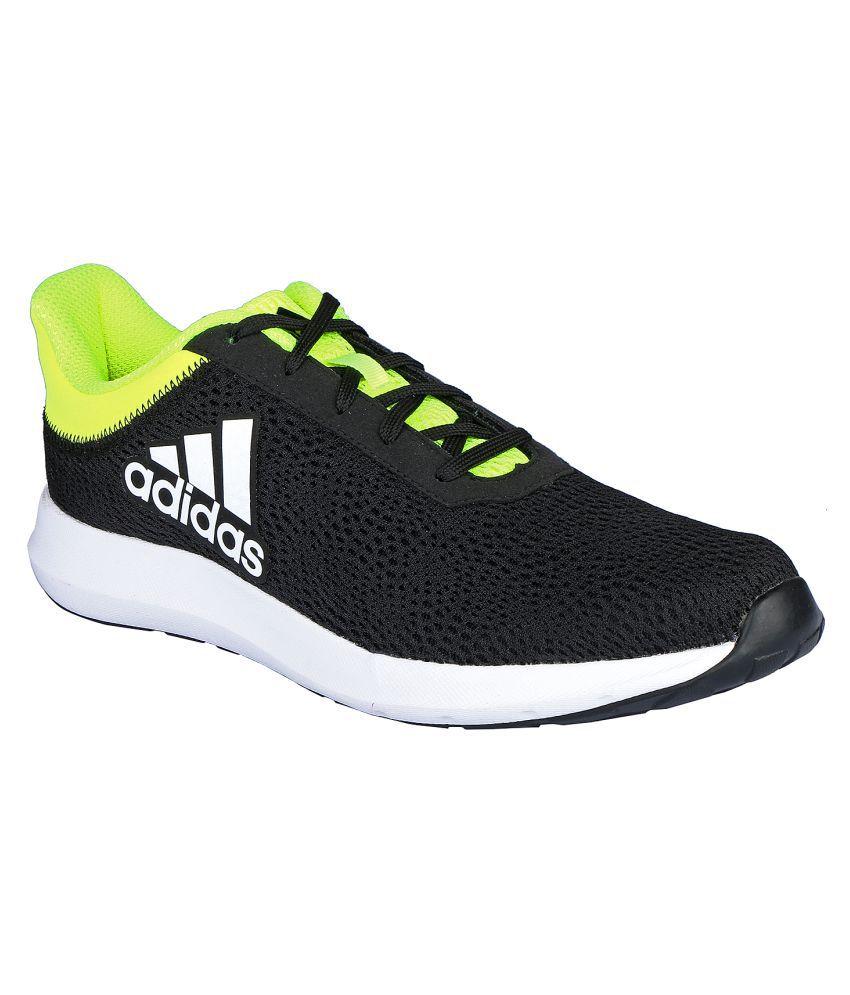 57c15b7f25cf Adidas ERDIGA 2.0 M Black Running Shoes - Buy Adidas ERDIGA 2.0 M Black Running  Shoes Online at Best Prices in India on Snapdeal