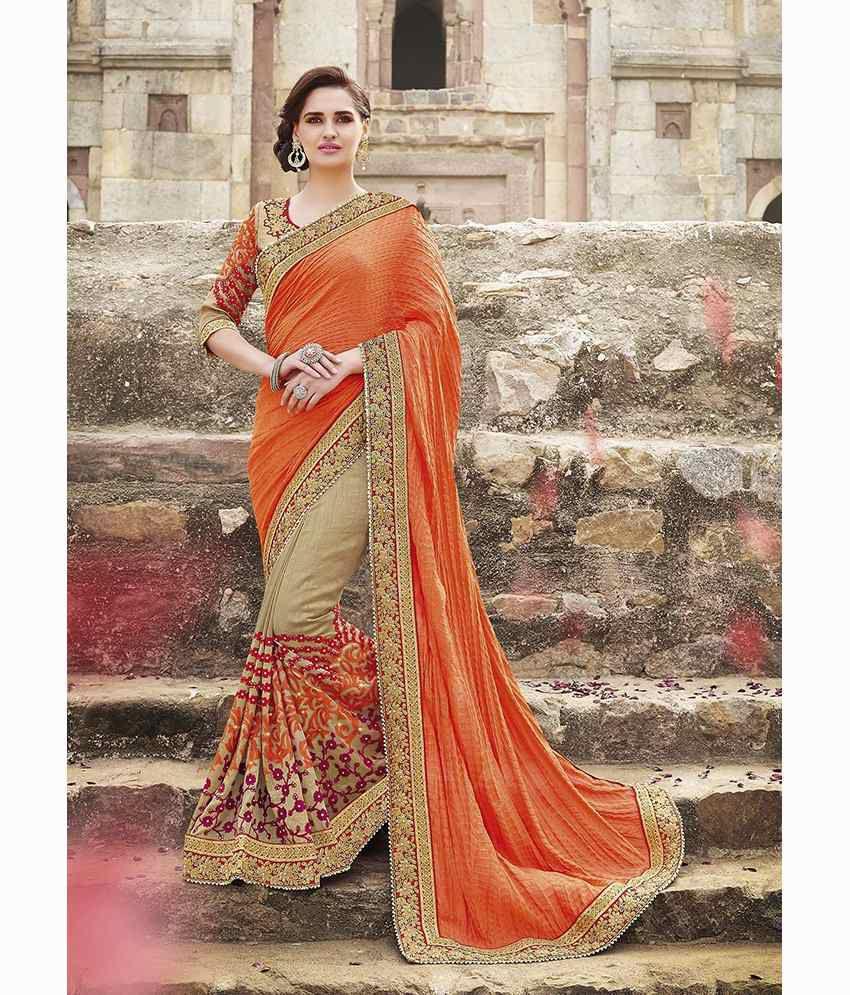 IndianEfashion Multicoloured Georgette Saree