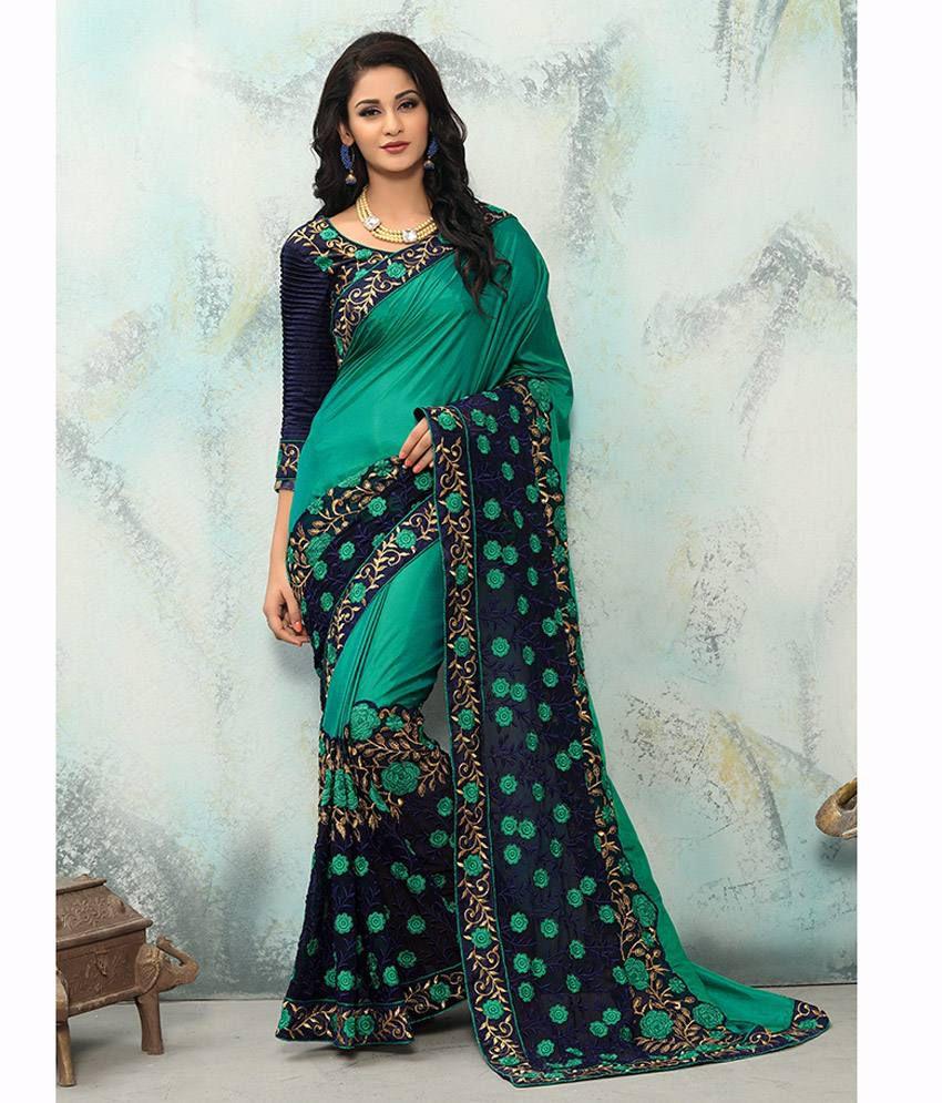 Onlinefayda Multicoloured Silk Saree