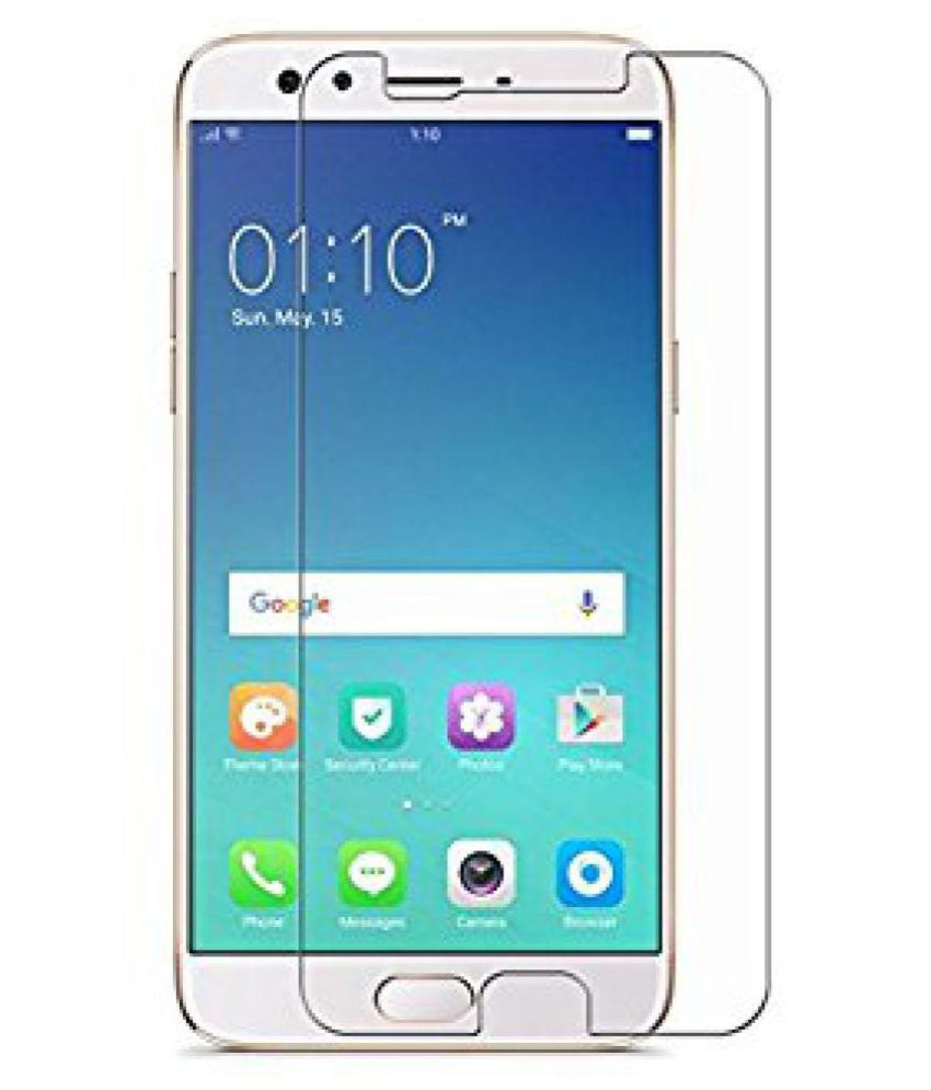 Oppo F3 plus Tempered Glass Screen Guard By ajay agency