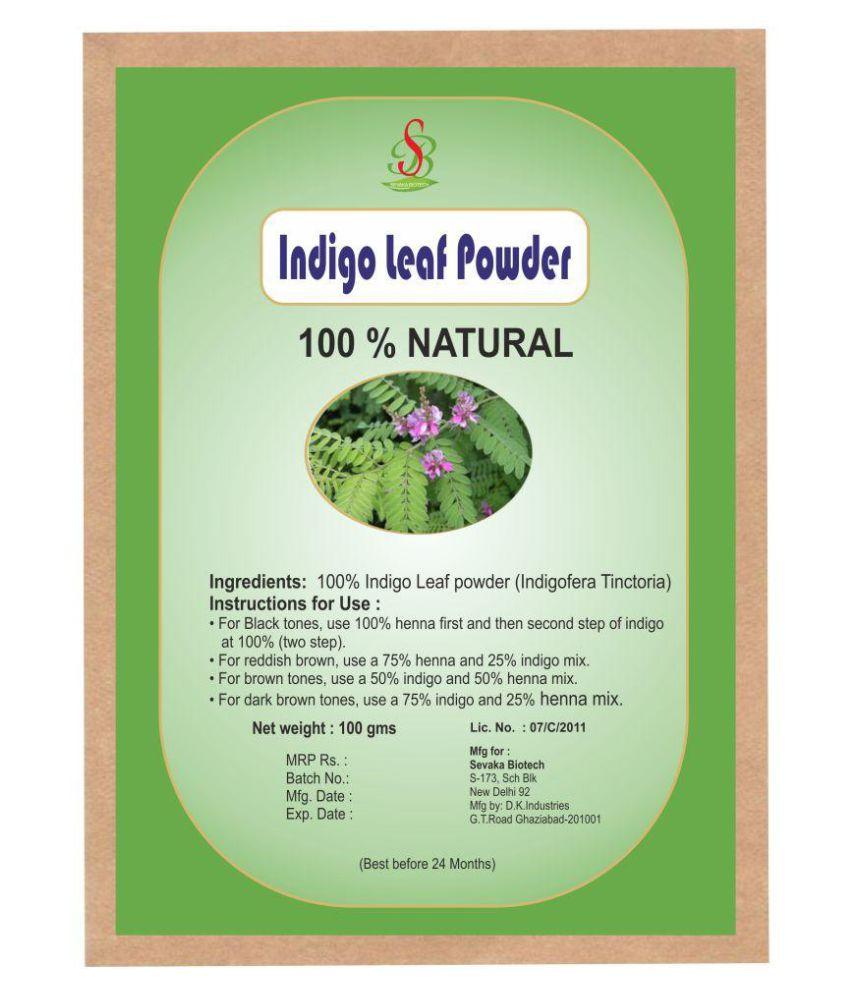 Sevaka Biotech Indigo And Henna Powder Natural Henna 200 Gm Buy