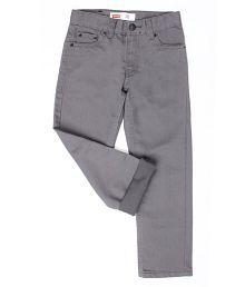 Levi's Boys Grey Jeans