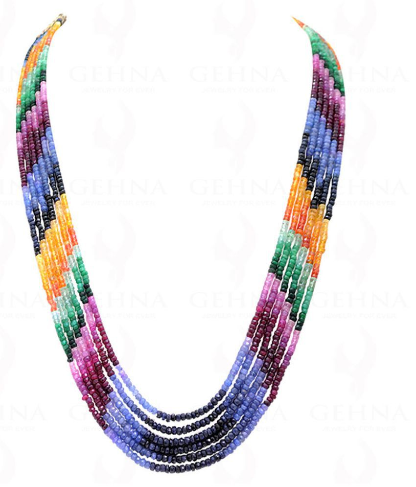 Gehna 92.5 Silver Necklace