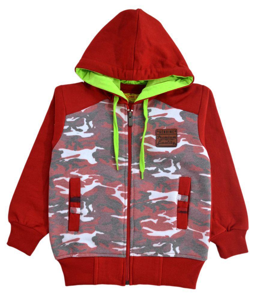 Come In Kids Girls / Kids Full Sleeve Winter Wear Printed Sweatshirt