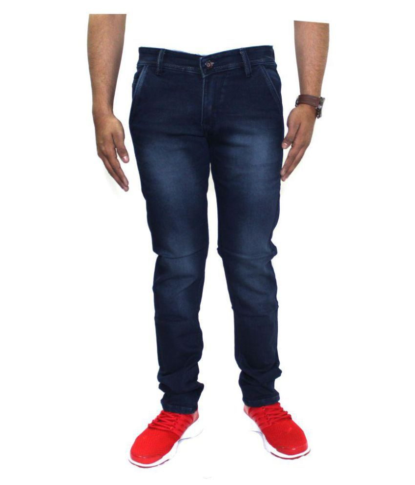 Goldiff Blue Slim Jeans