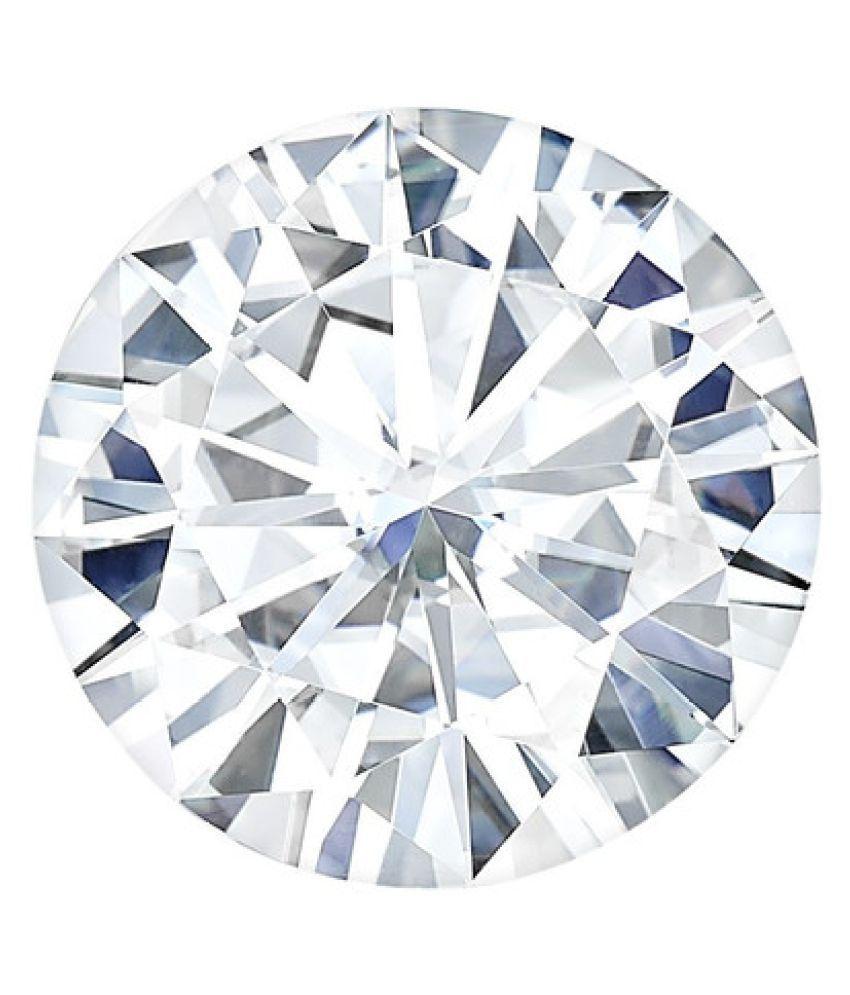 Charles & Colvard (USA) Round 7.5mm Moissanite Diamond 1.50ct Equivalent Weight
