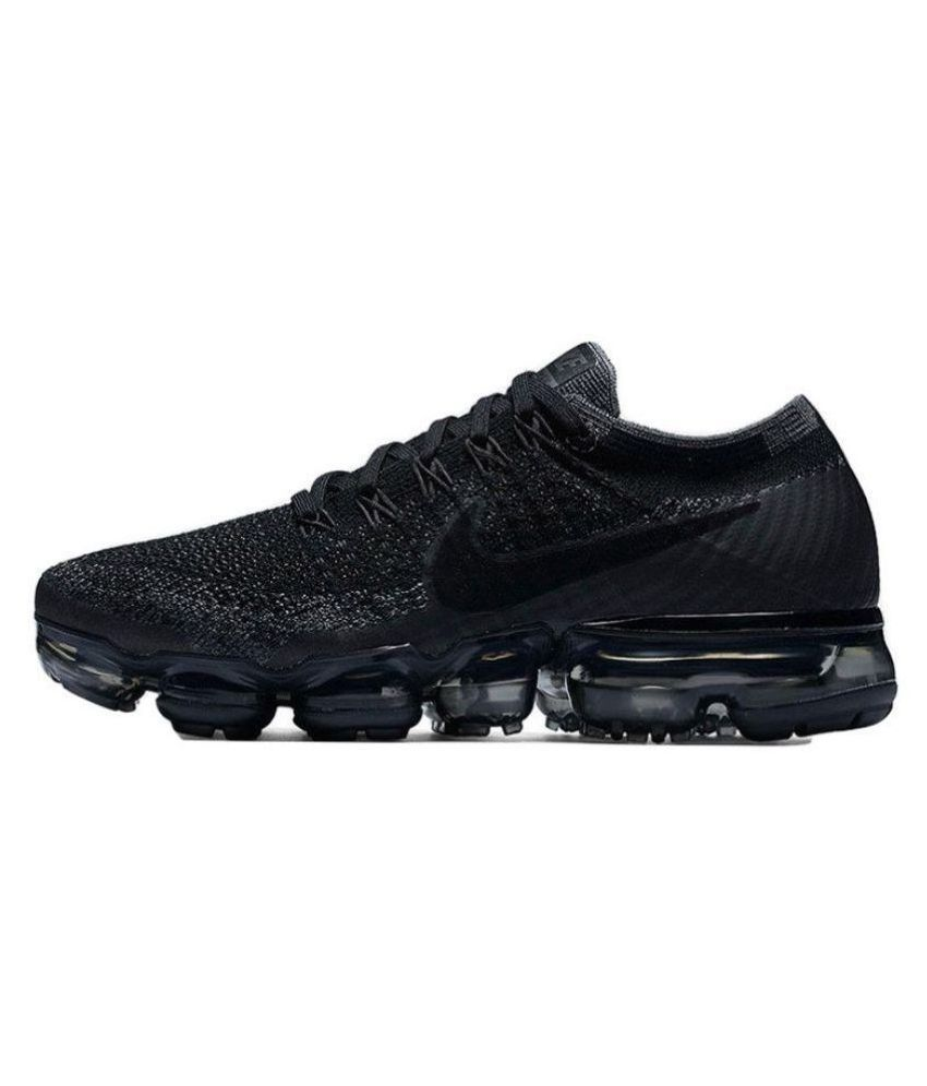 f9c29fbcdb9cb Zoom Air Vapormax Flyknit Black Running Shoes - Buy Zoom Air ...