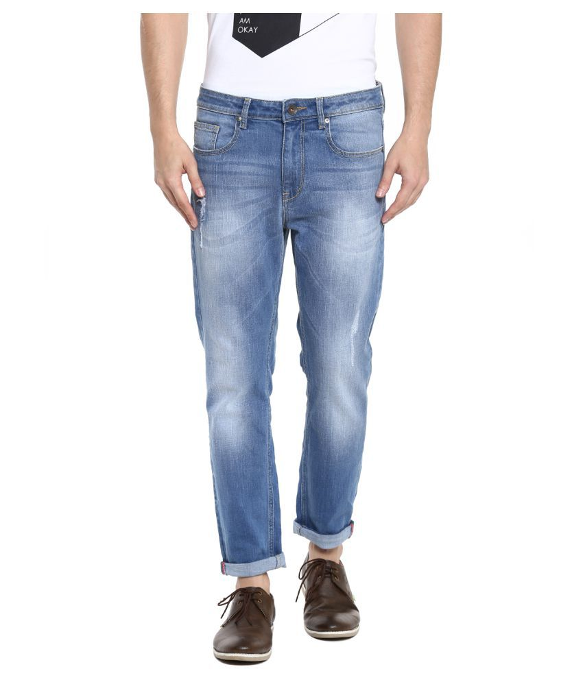 United Colors of Benetton Blue Slim Jeans