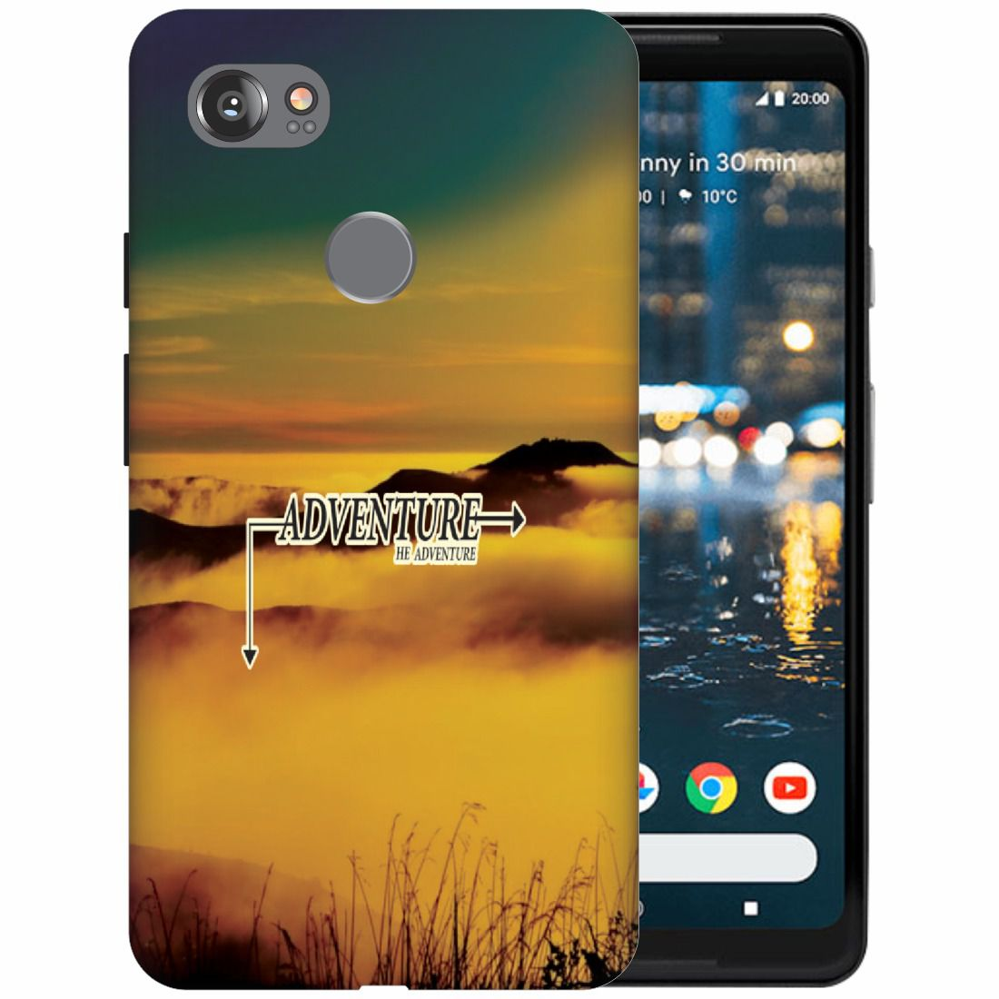 Google Pixel 2 XL 3D Back Covers By Printland