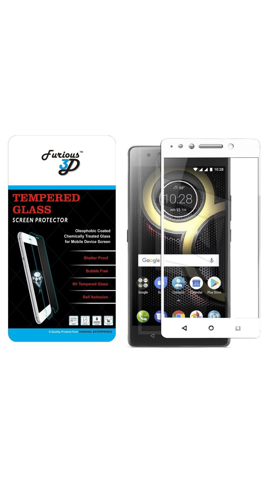 Lenovo K8 Note Tempered Glass Screen Guard By Furious3D
