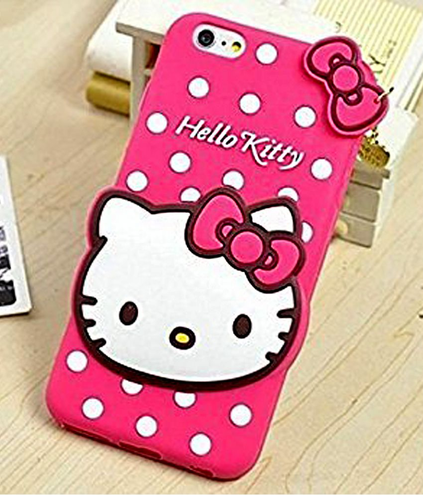 a07d98a7b Cute cartoon Hello Kitty Silicone With Pendant Back Case Cover For SAMSUNG  GALAXY J2 PINK - Printed Back Covers Online at Low Prices | Snapdeal India