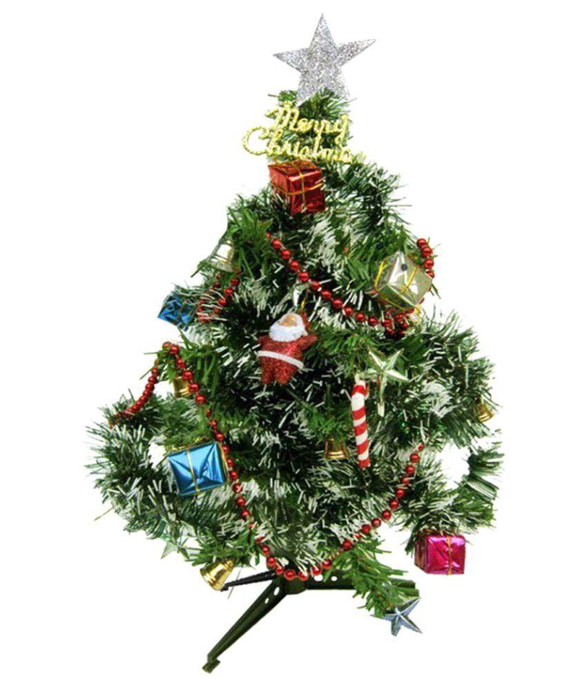 GPI Green 14 cms Christmas Tree