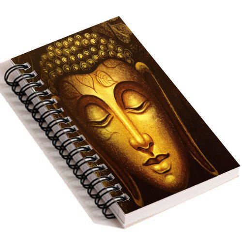 Gautam Buddha - Spiral Diary (Paperback)144 sheets 70 GSM Matte Art Paper Amazing to giftfor all occasionsby Unique Indian Crafts