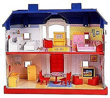 24 Pieces Doll house