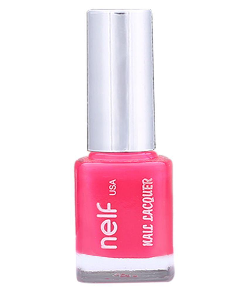 Nelf usa Nail Polish Pink Glossy 9 ml