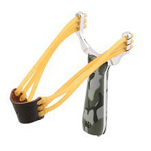 NO.5 Popular Powerful Sling Shot Aluminium Alloy Slingshot Camouflage Bow Catapult Outdoor Hunting Slingshot Hunt Tool Accessories