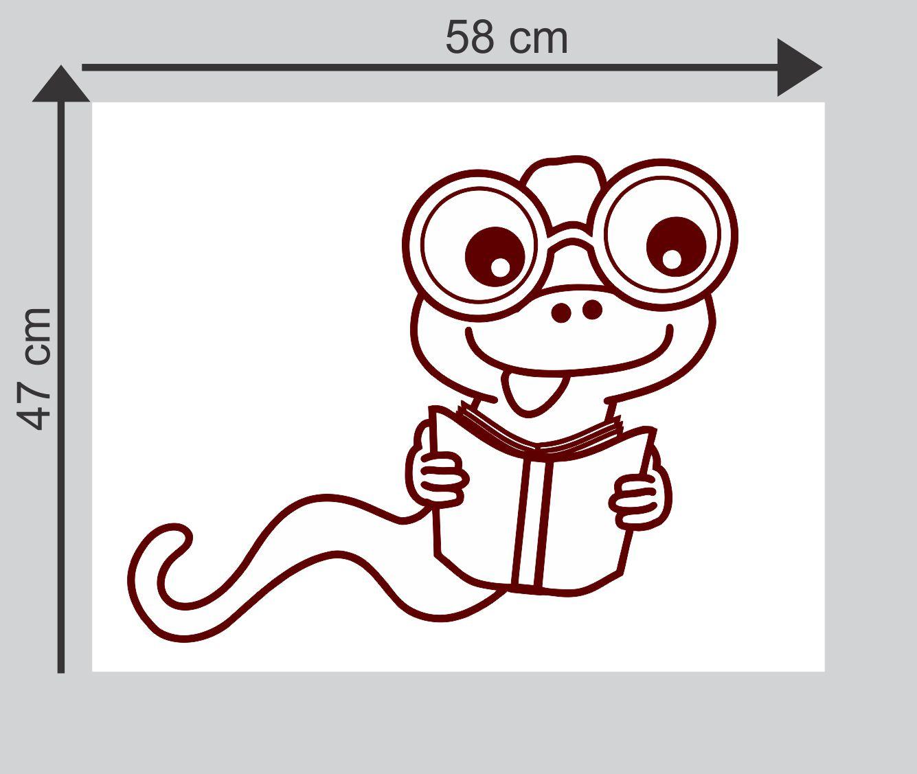 Sticker Studio Cartoon snake Super Hero Theme PVC Sticker Buy