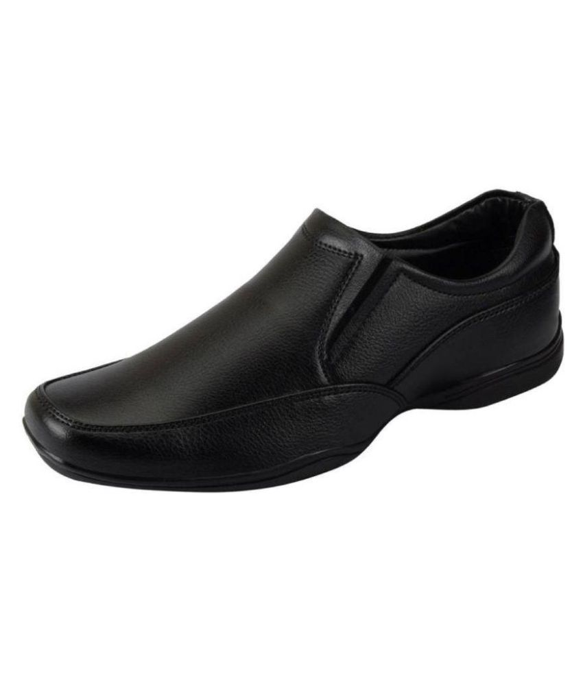 6eb91ffb8f9456 Bata Office Genuine Leather Black Formal Shoes Price in India- Buy Bata  Office Genuine Leather Black Formal Shoes Online at Snapdeal