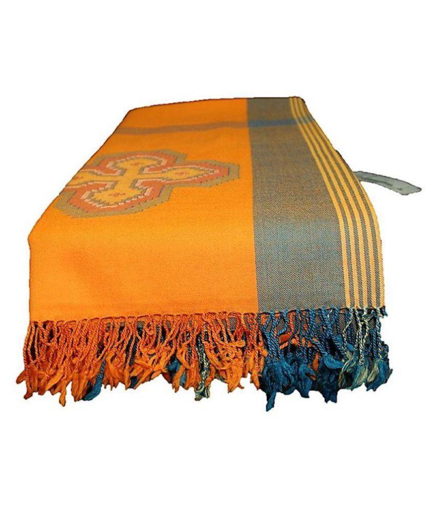 HimalayanKraft Multicoloured Loom-Woven Shawl