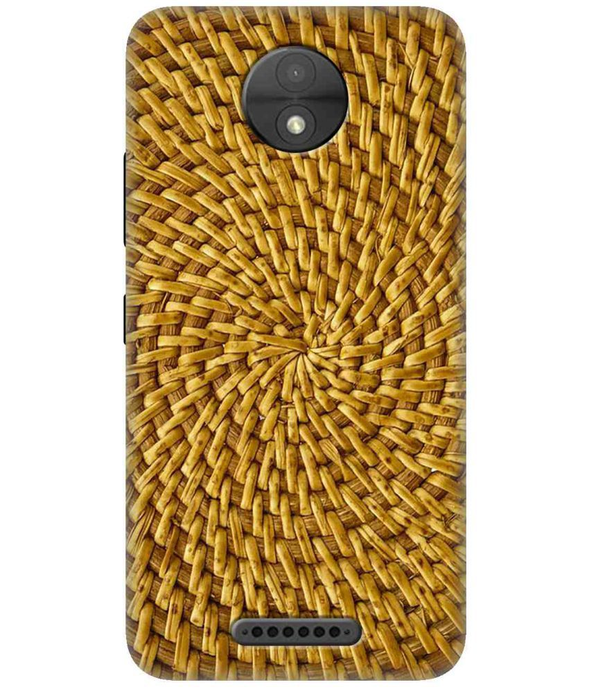 Moto C 3D Back Covers By Wow