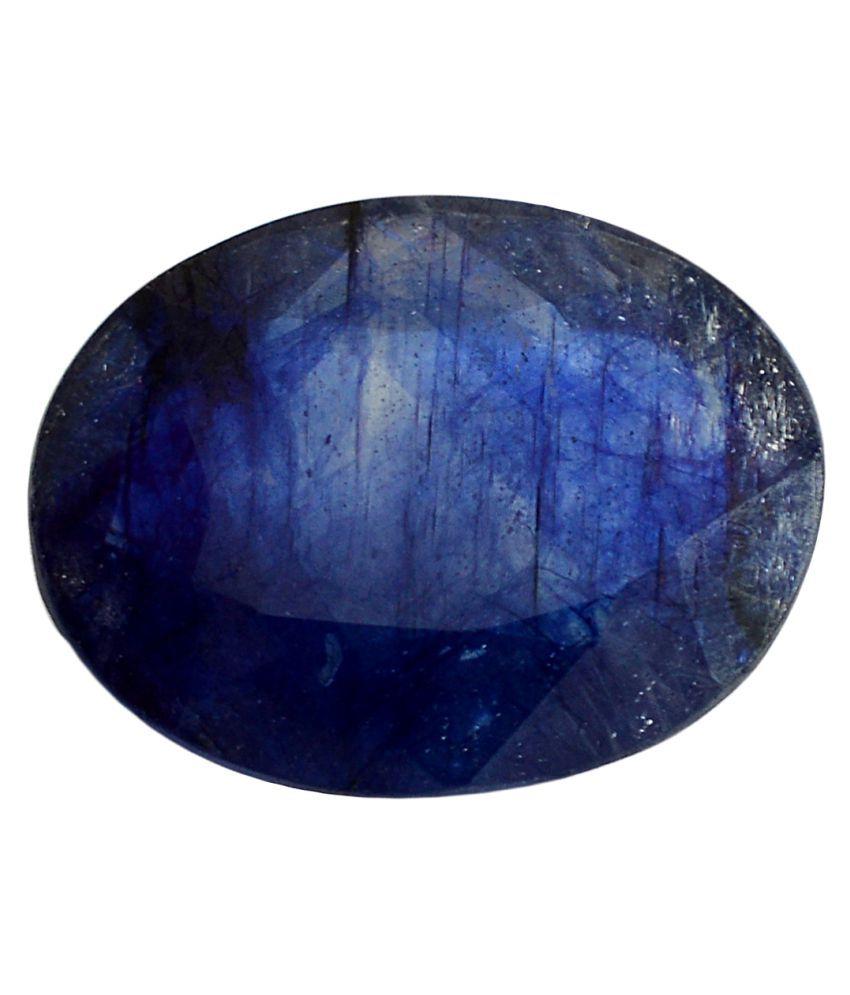 pitliya jewellers 6 -Ratti Self certified Blue Sapphire Precious Gemstone