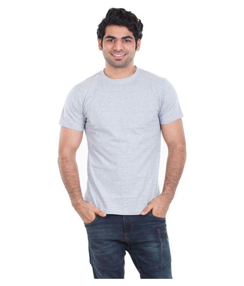 Kkoir Grey Round T-Shirt