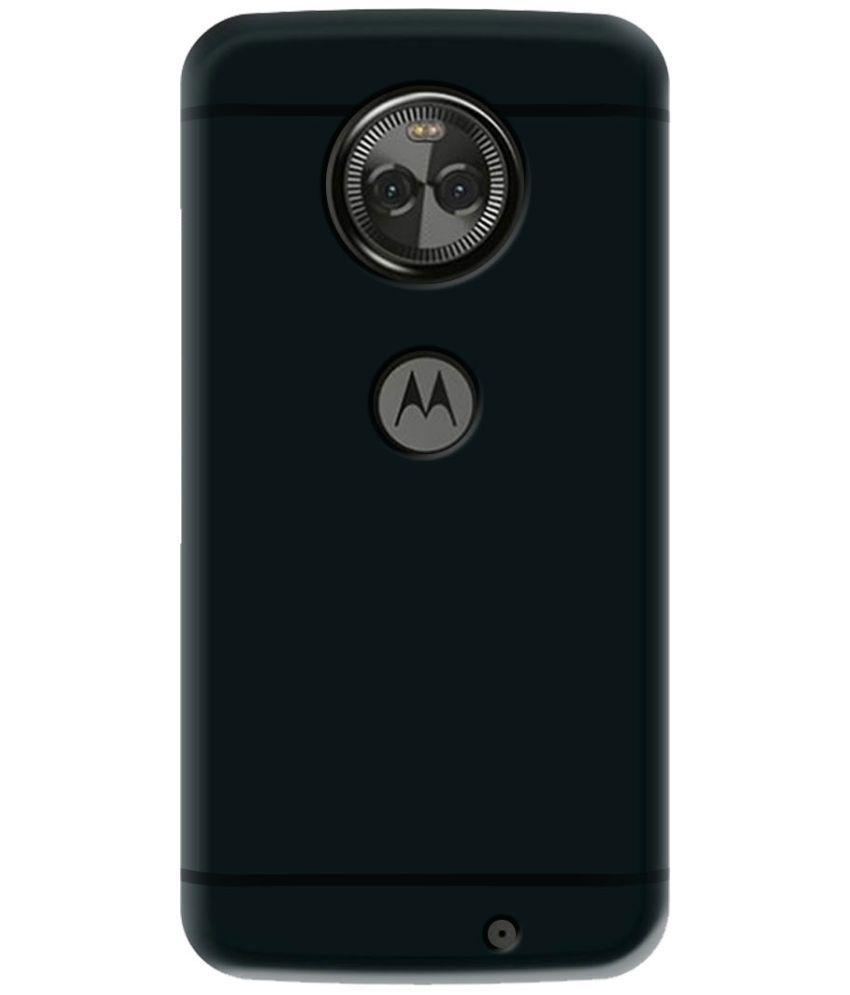 pretty nice 5abe9 6b494 Motorola Moto X4 Plain Cases Deltakart - Black