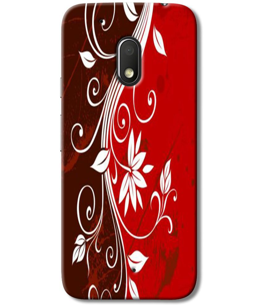 Moto G4 Play 4th Gen Printed Cover By Case King