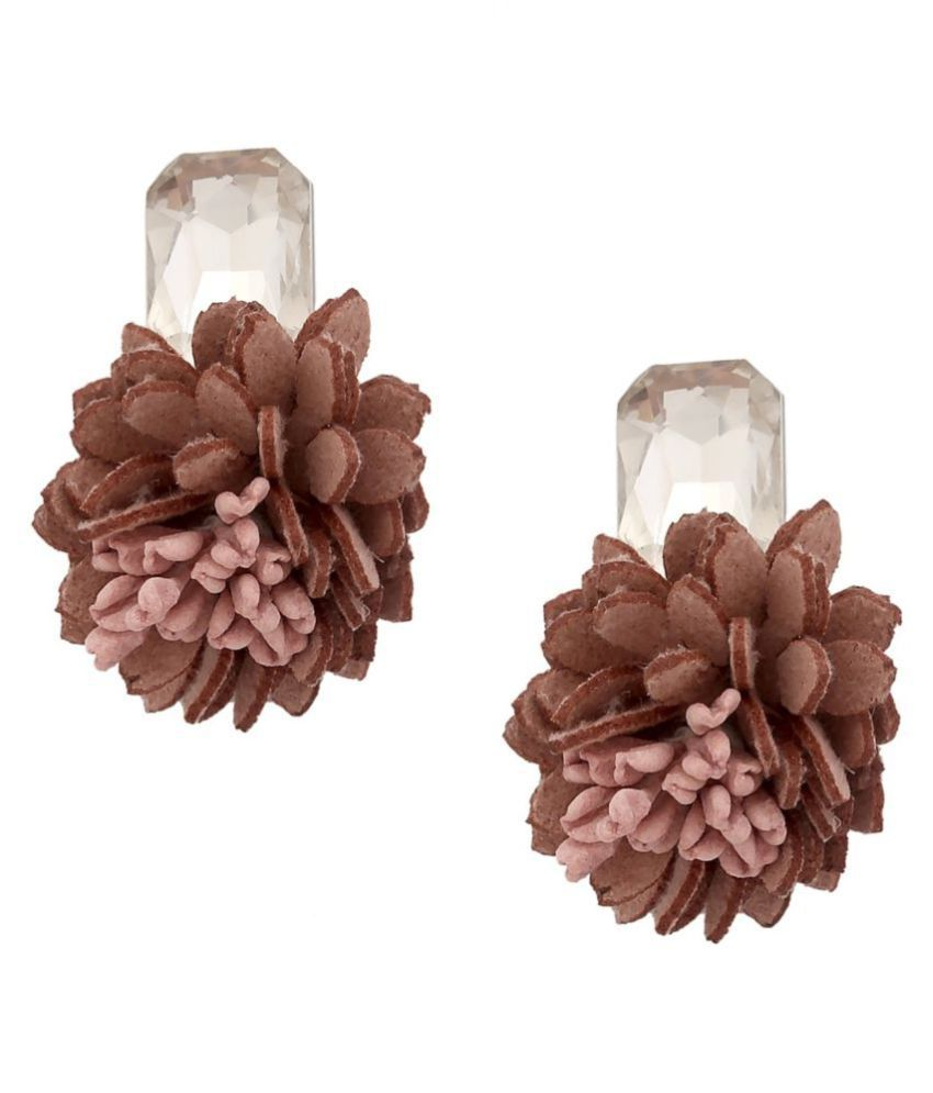 Tipsyfly Alloy Push back De luxe lobes Stud Earring for women