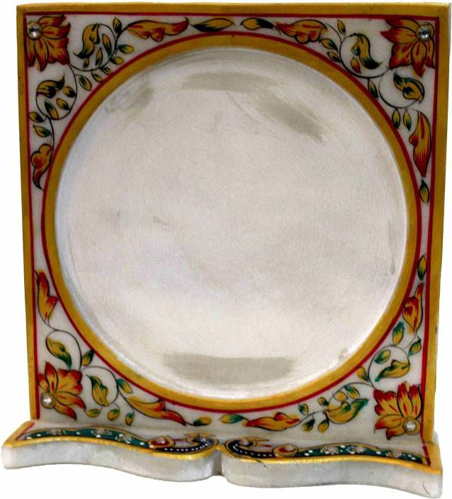 athizay Marble TableTop Multicolour Single Photo Frame - Pack of 1
