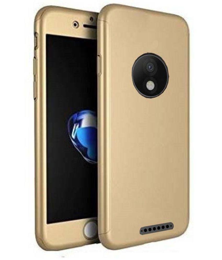 Motorola Moto E4 Plus Anti Gravity Cover ClickAway - Golden