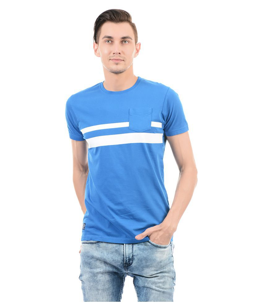 Pepe Jeans Blue Round T-Shirt
