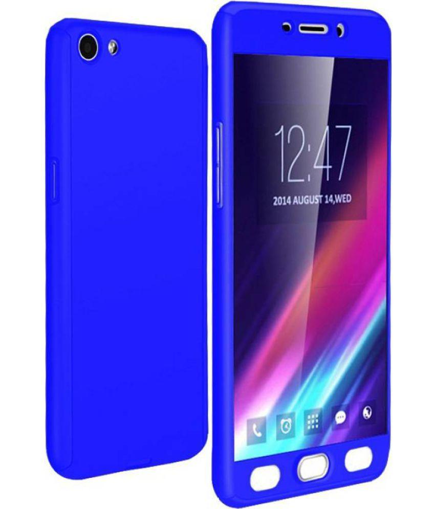 Vivo Y55L Cases with Stands ClickAway - Blue