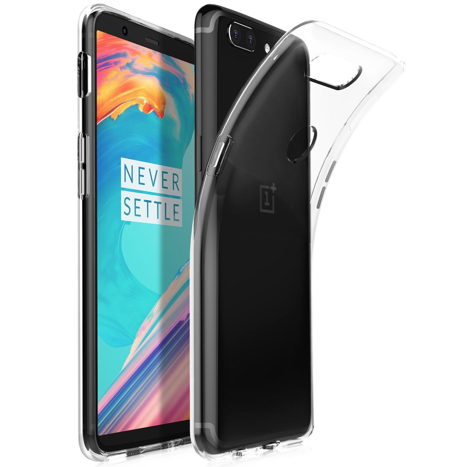 Oneplus 5T Soft Silicon Cases SpectraDeal - Transparent