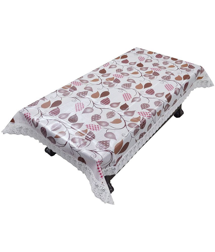 Khushi Creations 4 Seater PVC Single Table Covers