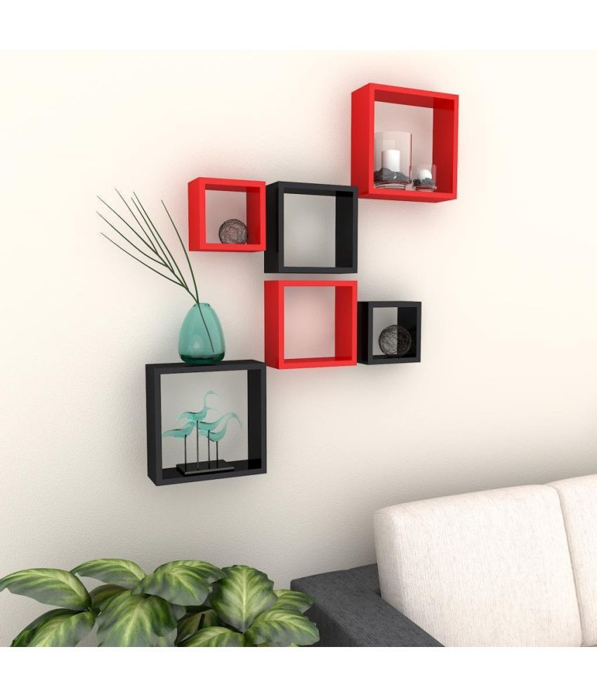 woodworld Floating Shelf/ Wall Shelf / Storage Shelf/ Decoration Shelf Multicolour - Pack of 1