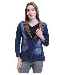 MDS Jeans Denim Blue Blazers