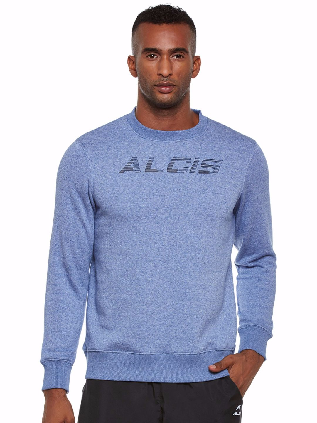 Alcis Men Blue Slounge Sweat