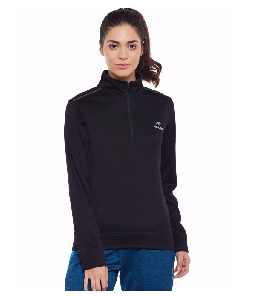 Alcis Women Black Sweet Sweat