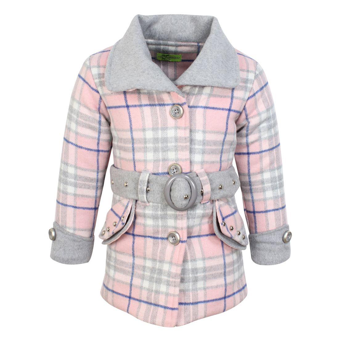 Cutecumber Girls Partywear Pure Wool Heavy Winter Jacket