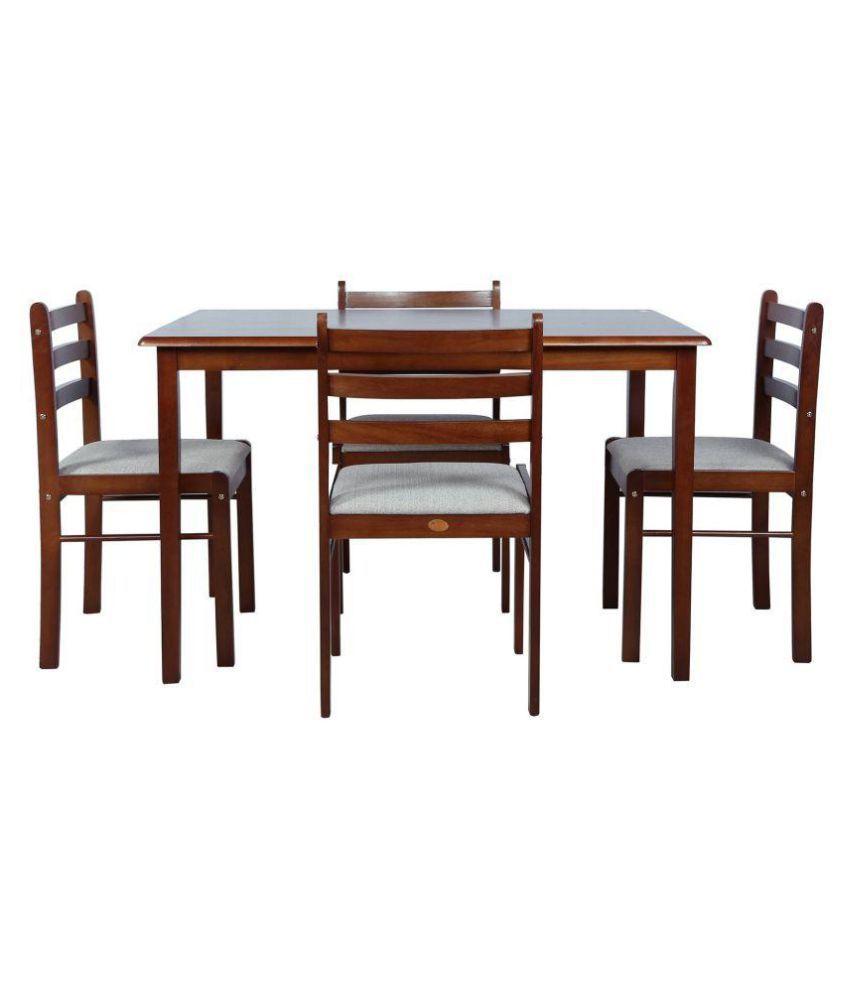Furniture Set-Four Seater Wood Furniture Dining Set/Dining