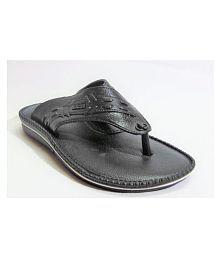 LADY CROWN Walkthetalk Black Slide Flip flop