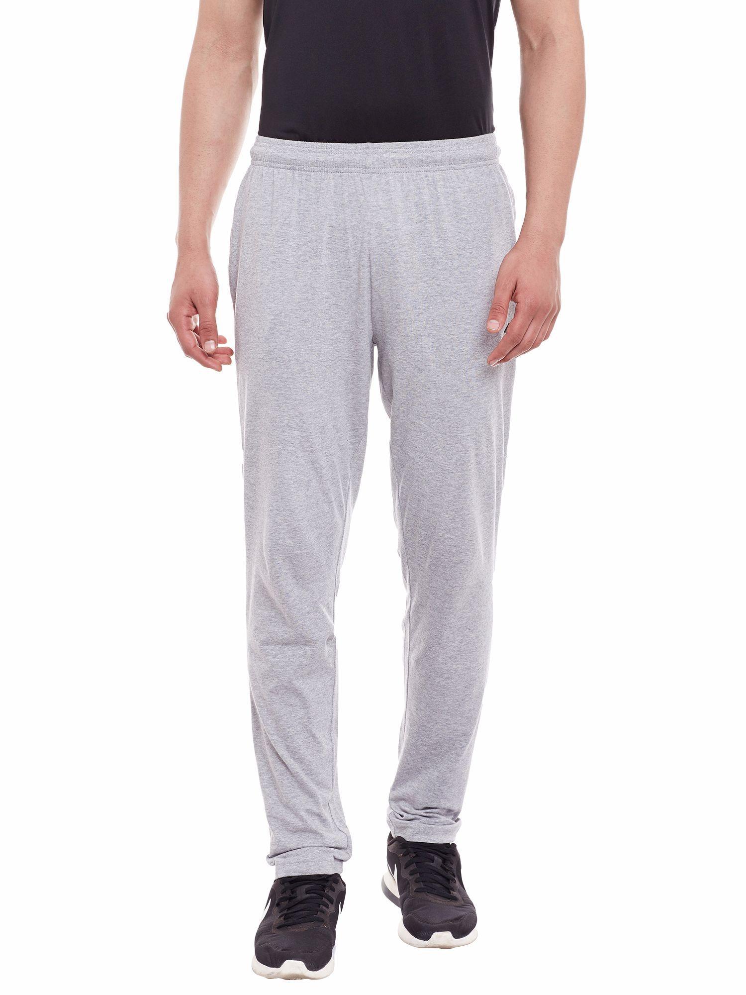 Alcis Men Grey Core Run Pants