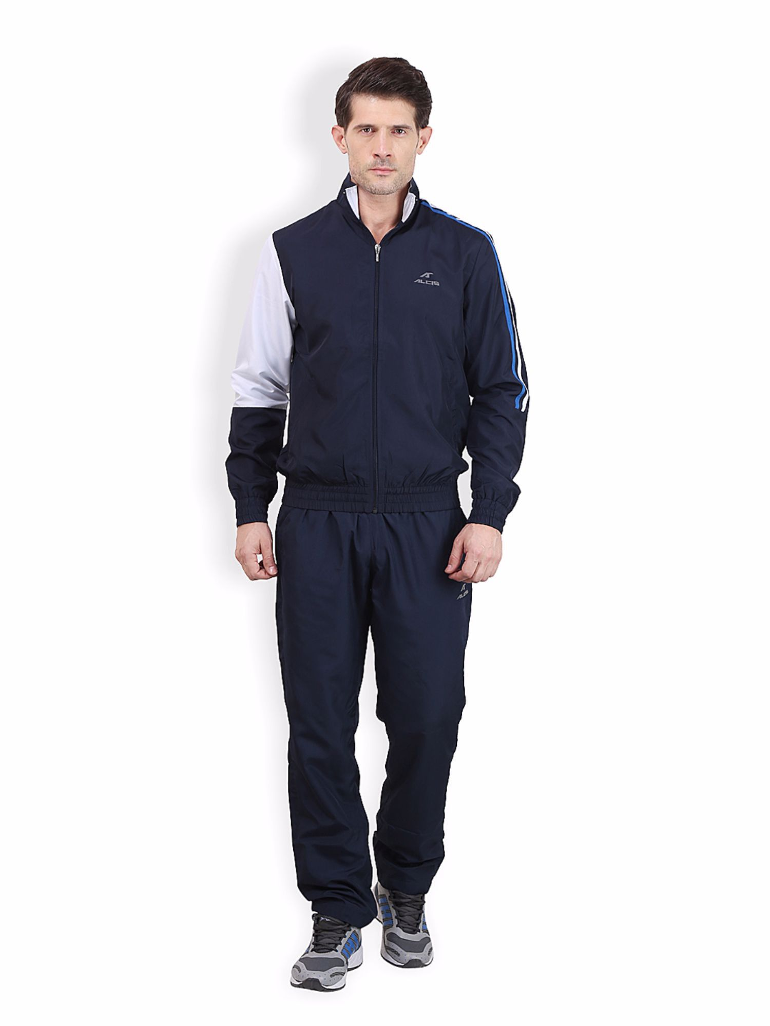 Alcis Men Navy Active Tracksuit