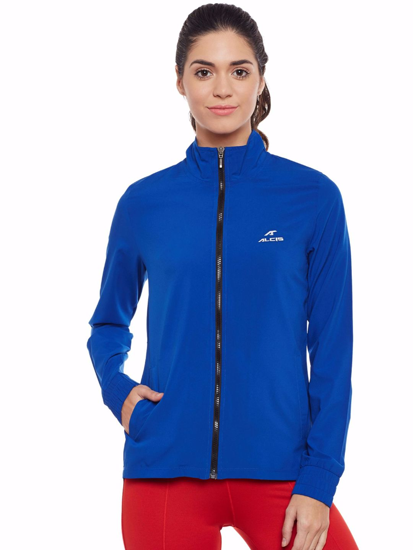 Alcis Women Navy Slounge Jacket