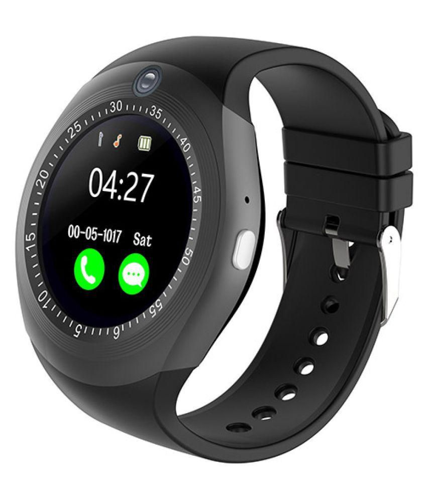 85d3fba5ca5e Ibs Y1s Camera Smart Watch with Bluetooth - Wearable & Smartwatches Online  at Low Prices | Snapdeal India