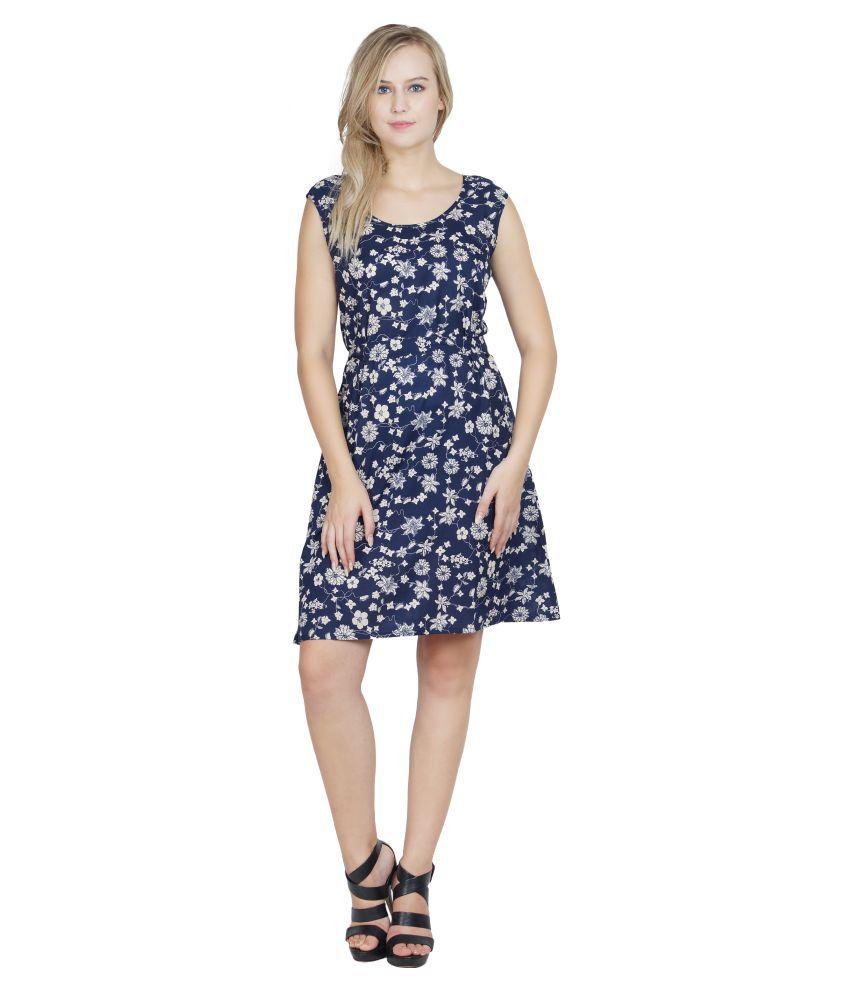 Patrorna Crepe Nighty & Night Gowns - Multi Color
