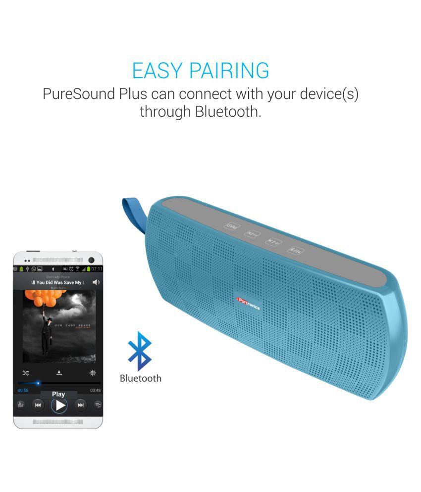 Portronics POR-780 PureSound Plus bluetooth Stereo 6W Speaker Bluetooth Speaker