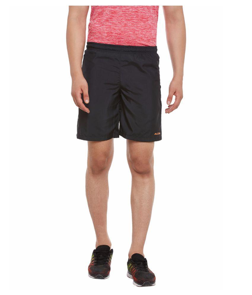 Alcis Mens Black Shorts