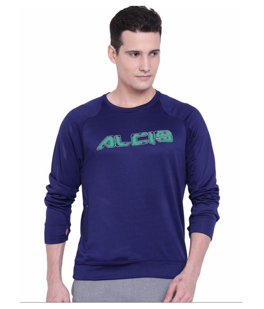 Alcis Mens Navy Sweatshirt